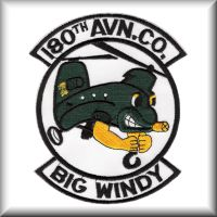 180th Assault Support Helicopter Company unit patch.