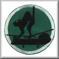 "213th ASHC - ""Black Cats"" Unit Patch while in the Republic of Vietnam."