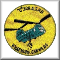 "A pocket patch of C Company - ""Crimson Tide"", 228th Assault Support Helicopter Battalion while in the Republic of Vietnam."