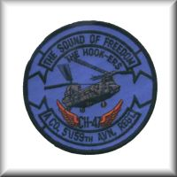 The unit patch of Company A, 5th Battalion, 159th Aviation Regiment, Washington Army Reserve.